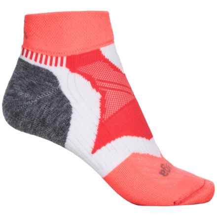 Balega Enduro Socks - Ankle (For Women) in Coral - Closeouts