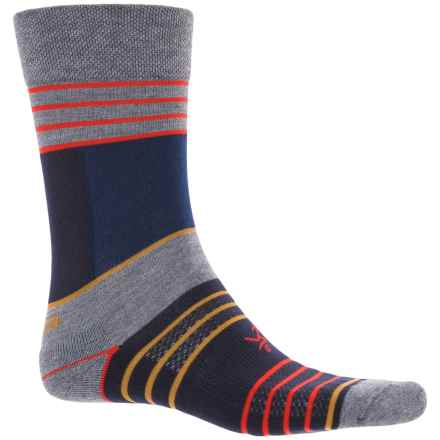 Balega Enduro Stripes Socks - Crew (For Women) in Grey - Closeouts