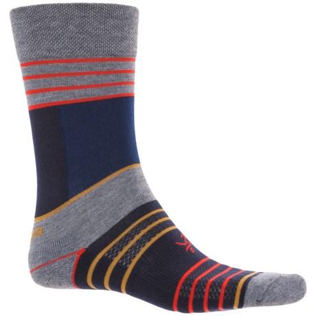 Balega Enduro Stripes Socks - Crew (For Women) in Grey