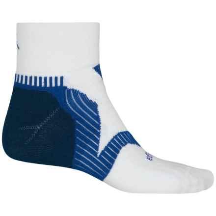 Balega Enduro V-Tech Running Socks - Ankle (For Men and Women) in White/Ink/Cobalt - Closeouts