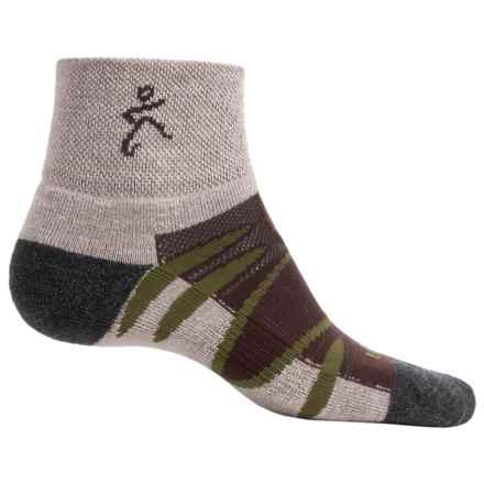 Balega Enduro V-Tech Socks - Merino Wool, Quarter Crew (For Men and Women) in Camo/Natural - Closeouts