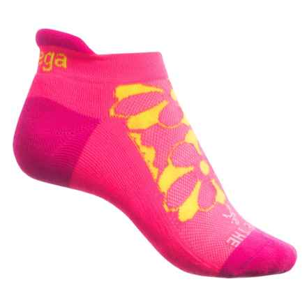 Balega Enduro Words of Grit & Grace Running Socks - Below the Ankle (For Women) in Melon - Closeouts
