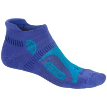 Balega Hidden Contour Running Socks - Below the Ankle (For Men and Women) in Azure/Turquoise - Closeouts