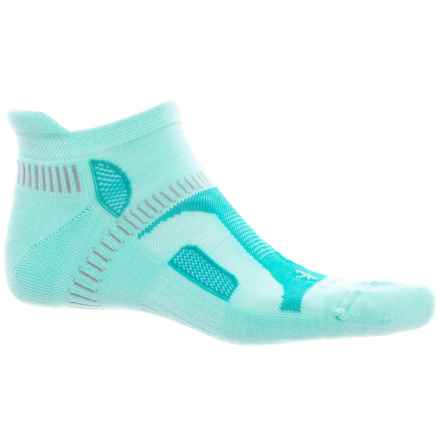 Balega Hidden Contour Running Socks - Below the Ankle (For Women) in Aqua - Closeouts