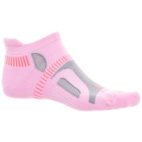 Balega Hidden Contour Running Socks - Below the Ankle (For Women) in Bubblegum Pink