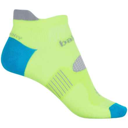 Balega Hidden Dry 2 Running Socks - Below the Ankle (For Men and Women) in Neon Yellow - Closeouts