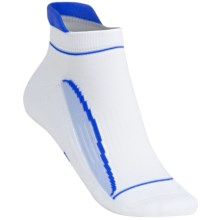Balega Lady Enduro Socks - Below-the-Ankle (For Women) in White/Blue - Closeouts