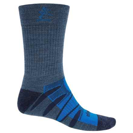 Balega Moh-Rino V-Tech Enduro Socks - Crew (For Men and Women) in Denim/Blue - Closeouts