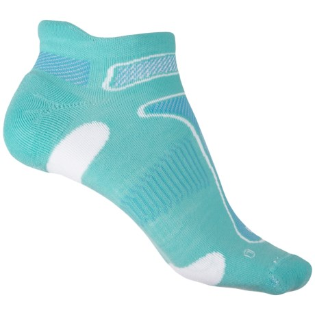 Balega No-Show Running Socks - Below the Ankle (For Men and Women) in Aqua