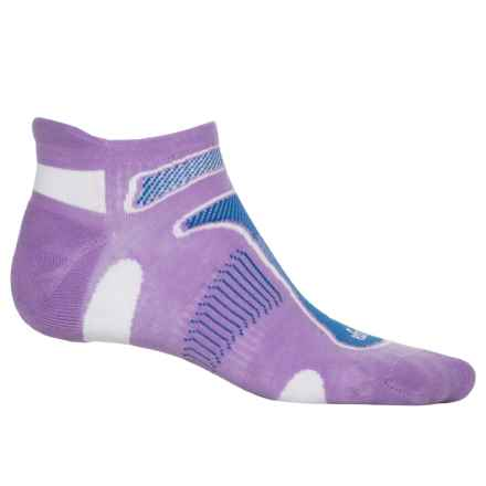 Balega No-Show Running Socks - Below the Ankle (For Men and Women) in Lavender - Closeouts
