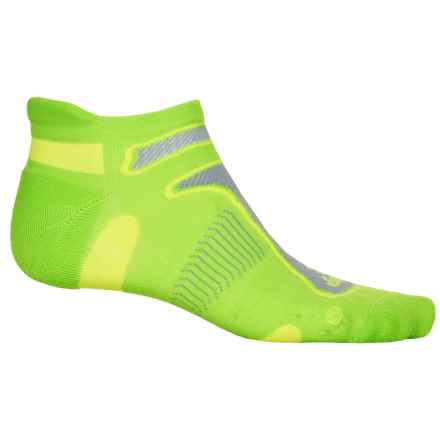 Balega No-Show Running Socks - Below the Ankle (For Men and Women) in Neon Green - Closeouts