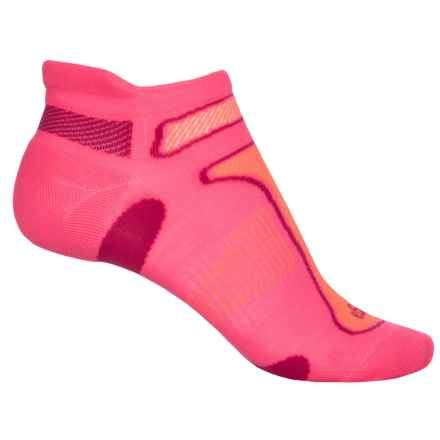 Balega No-Show Running Socks - Below the Ankle (For Men and Women) in Sherbert Pink - Closeouts