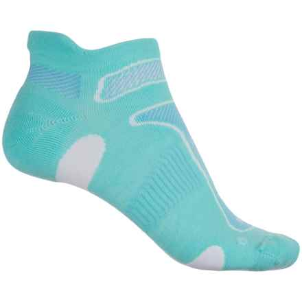Balega No-Show Running Socks - Below the Ankle (For Women) in Aqua - Closeouts