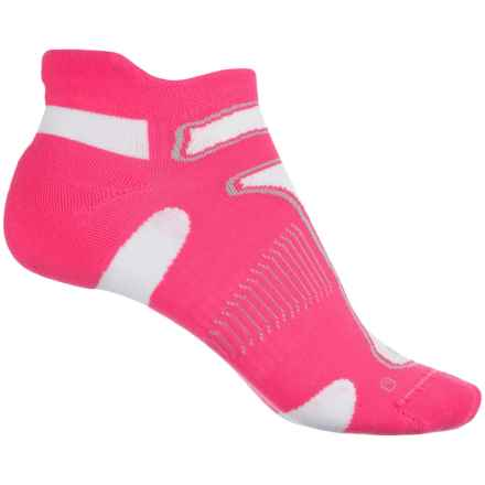 Balega No-Show Running Socks - Below the Ankle (For Women) in Watermelon - Closeouts