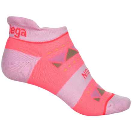 Balega Run Strong Socks - Below the Ankle (For Women) in Sherbert Pink/Bubble Gum - Closeouts