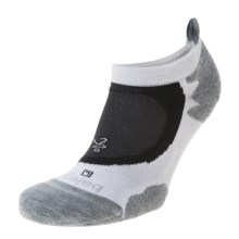 Balega Soft Tread No-Show Running Socks - Below the Ankle (For Men and Women) in Charcoal - Closeouts