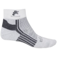Balega Ultra 2 Running Socks - Ankle (For Men and Women) in White - Closeouts