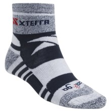 Balega Xterra Trail Socks - Lightweight, Quarter-Crew (For Men) in Denim - Closeouts