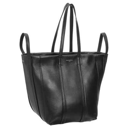 Laundry Cabas Handbag - Leather (For Women) in Noir - Closeouts