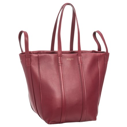 Laundry Cabas Handbag - Leather (For Women) in Rouge Grenat - Closeouts 5f371d4833e9c