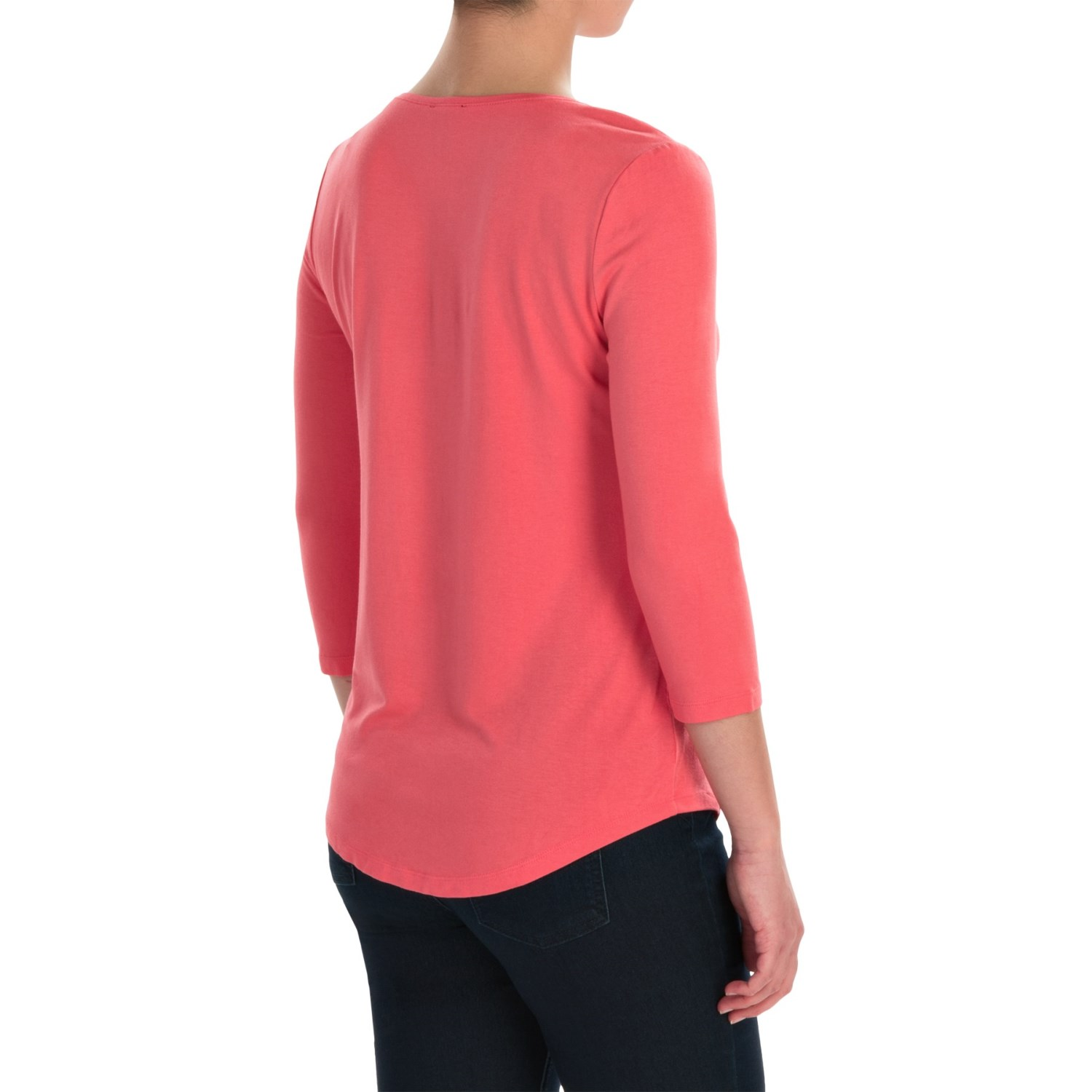 Ballet neck knit shirt for women save 74 for Ballet neck tee shirts