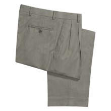 Ballin Dover Dress Pants - Pleated, Cuffed (For Men) in Sage - Closeouts