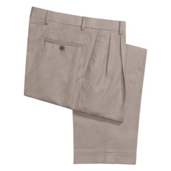 Ballin Dover Dress Pants - Pleated, Cuffed (For Men) in Stone