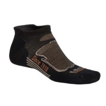 Ballston High-Performance Tab Socks - Merino Wool, Below-the-Ankle (For Men) in Black/Brown/Grey - Closeouts