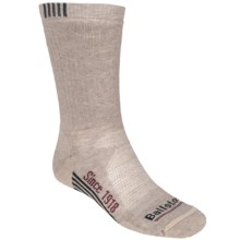 Ballston High-Performance Trekking Socks - Merino Wool, Midweight, Crew (For Men) in Light Rope - Closeouts