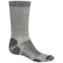 Ballston Merino Wool Trekking Expedition Socks (For Men) in Graphite/Black - Closeouts