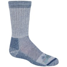 Ballston Midweight Socks - Merino Wool, Crew (For Little Kids) in Blue - 2nds