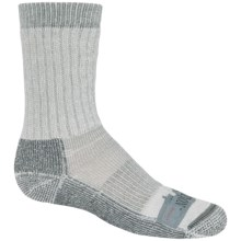 Ballston Midweight Socks - Merino Wool, Crew (For Little Kids) in Grey - 2nds