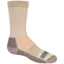 Ballston Midweight Socks - Merino Wool, Crew (For Little Kids) in Tan - 2nds
