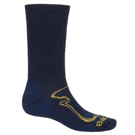 BallstonTrekking Expedition Socks - Merino Wool, Mid Calf (For Men) in Dark Navy - Closeouts