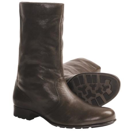 Bally Boschi Lambskin Boots (For Men) in Espresso