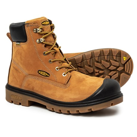 Image of Baltimore Soft-Toe Work Boots - Waterproof (For Men)