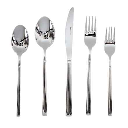 Bambeco Bryson Flatware Single Place Setting - 5-Piece, Stainless Steel in Stainless Steel - Closeouts
