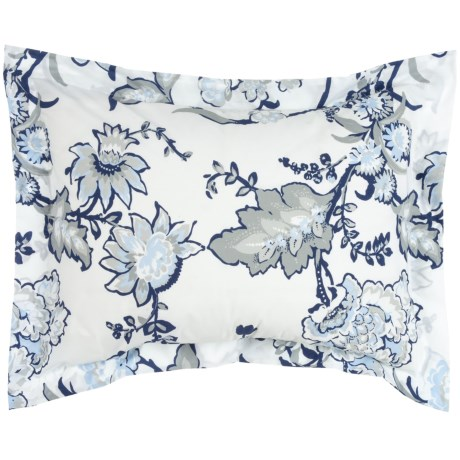Bambeco Chatham Floral Pillow Sham - King, Organic Cotton in Multi