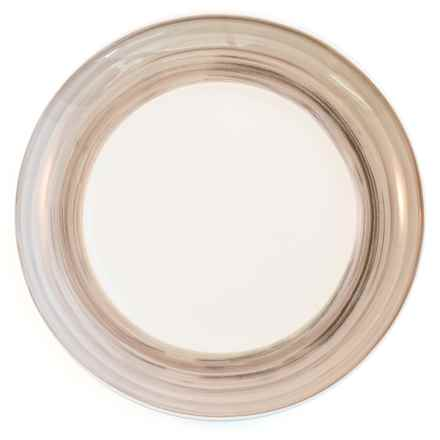 Bambeco Dakota Porcelain Collection Salad Plate in Birch - Overstock
