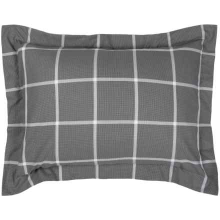 Bambeco Emerson Wind Pillow Sham - Standard, Organic Cotton in Multi - Closeouts