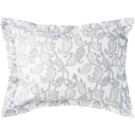 Bambeco Emma Paisley Pillow Sham - Standard, Organic Cotton in Multi - Closeouts