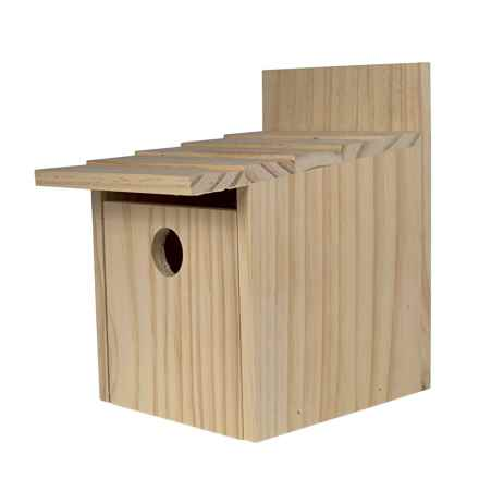 Bambeco Frontier Birdhouse in Natural - Closeouts