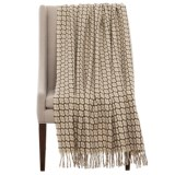 "Bambeco Gathering Print Wool Throw Blanket - 51x71"""