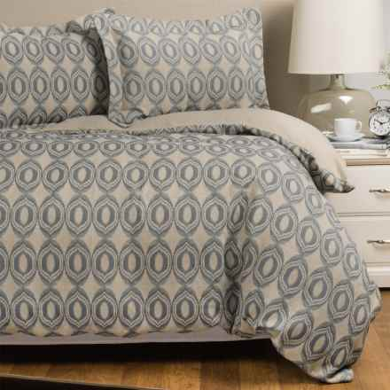 Bambeco Lovina Collection Duvet Cover Set - Queen in Balsam - Closeouts