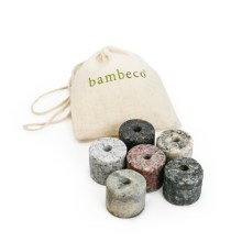 Bambeco On the Rocks Drink Chillers - Set of 6 Granite Stones in See Photo - Overstock
