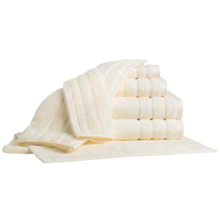 Bambeco Organic Cotton Towel Set - 7-Piece in Ivory - Closeouts