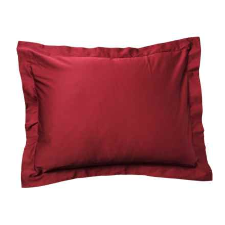 Bambeco Porcelain Organic Cotton Sateen Pillow Sham - King, 300 TC in Porcelan - Closeouts