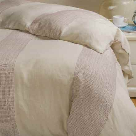 Bambeco Portland Collection Linen Duvet Cover - King in Linen - Closeouts