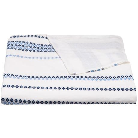 Bambeco Santorini Diamond Duvet Cover - King, Organic Cotton in Multi