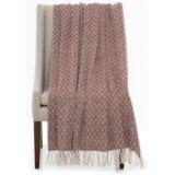 "Bambeco Spike Print Wool Throw Blanket - 51x71"""